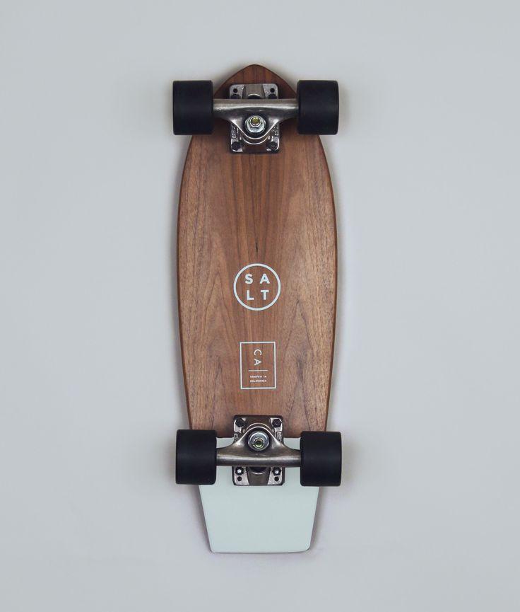 SALT SURF — Skateboard- Mint