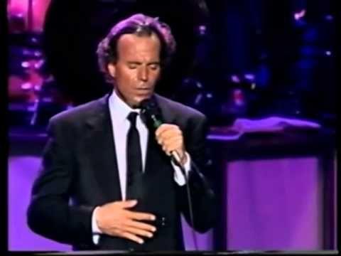 Julio Iglesias.  Concierto en Barcelona en 1988