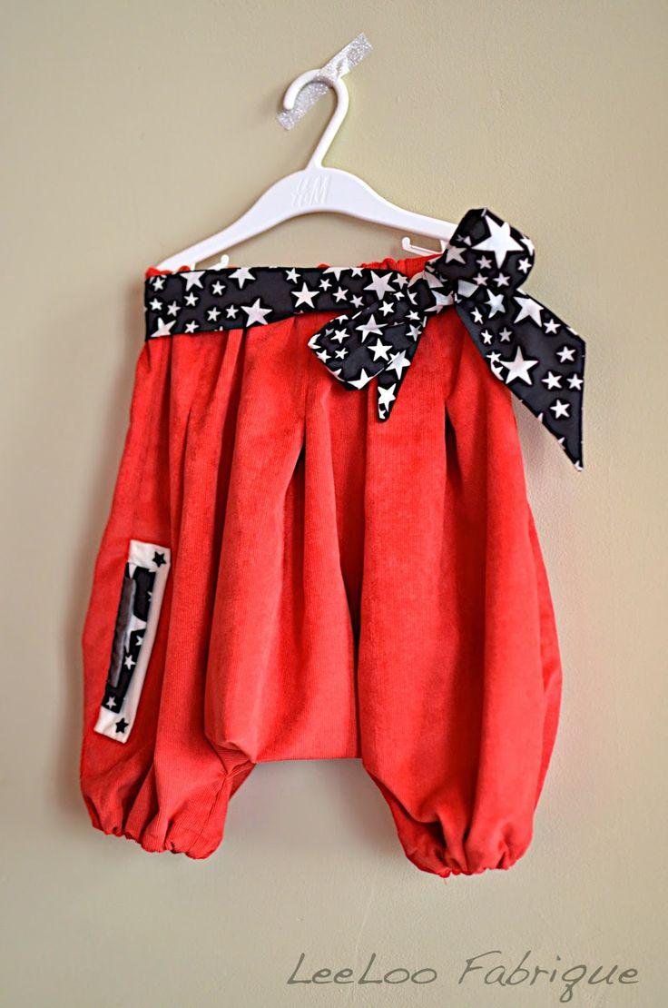 Sarouel Ankaa - Grains de couture pour enfants - Ivanne Soufflet - 2 ans