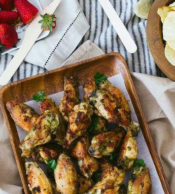 pollo marinado con jengibre