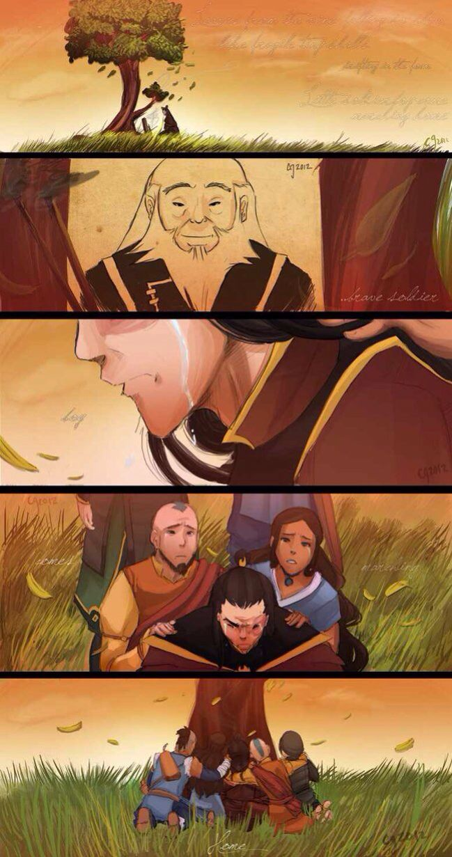 This made me cry the second I saw it. AvatarThe Last