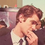 I mean, are you even aware of how good you look? | Why Andrew Garfield Should Have The Happiest Birthday Ever