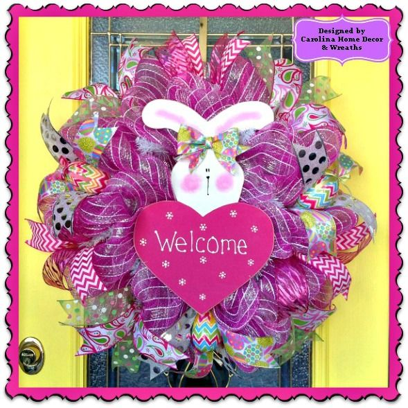 Easter Wreath #2 - SOLD!!!