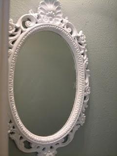fancy bathroom mirror