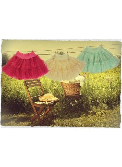 Paper Doll Petticoat (Aqua)