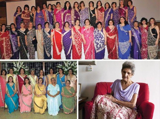 Parsi Gara Sari Wearing and Parsi Sari Design | Parsi News Zoroastrian News