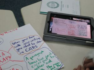 Using the reflector app in the language classroom
