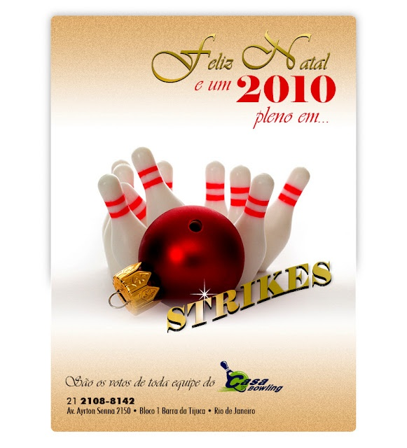 Christmas card for Casa Bowling.