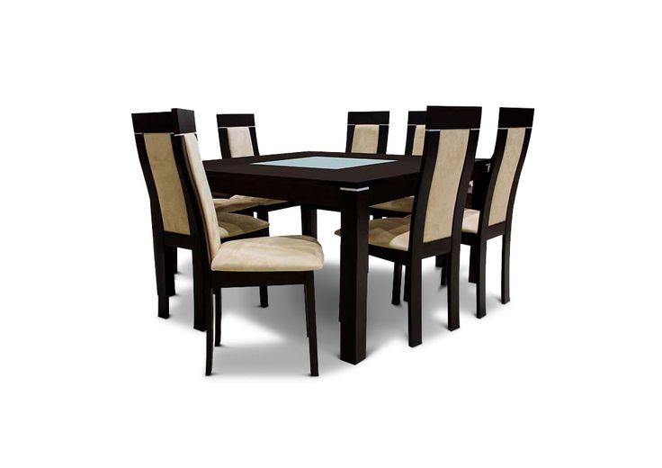 Juego de comedor NTO modelo Lumpur con 8 sillas. Precio por #CyberMomday en Ripley.com: S/. 1599. Descuentos increíbles para el regalo de mamá este 27 y 28 de abril. #mefascinamimama #ahoraenripley #regalosparamama