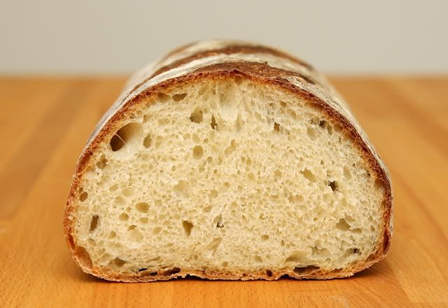 Сельский хлеб  на 12-ти часовой опаре (Jeffrey Hamelman's Rustic Bread)