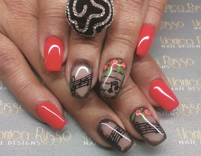A Love for Holiday Nail Art - 424 Best Valentines Day Nail Art Images On Pinterest Valentines