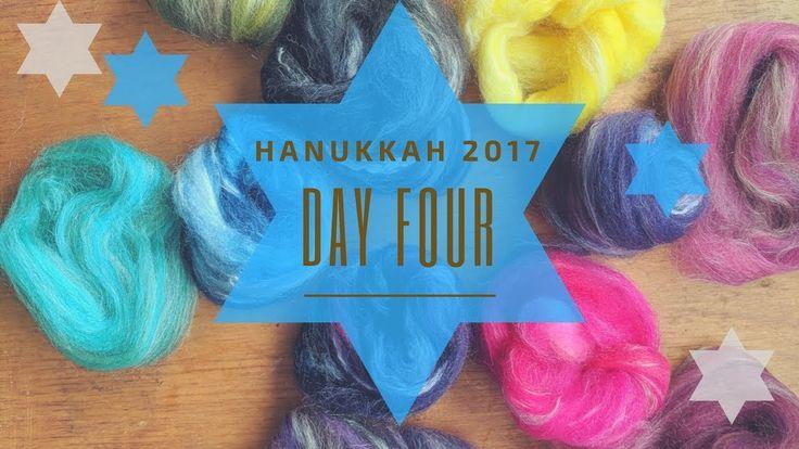 Combed Top & Batt Autumnal Mashup: Hanukkah 2017 Day Four