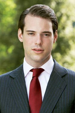 His Royal Highness Prince Félix of Luxembourg, Prince of Nassau, Prince of Bourbon-Parma.  Prince Félix Léopold Marie Guillaume of Luxembourg, born on 3 June 1984, is the second son Grand Duke Henri and Grand Duchess Maria Teresa. He is currently second in the line of succession.