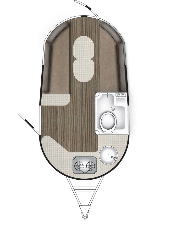 The new Airstream Base Camp travel trailer floor plan from Airstream of South Florida. Contact Mike Harlan for more information at: (239) 910-6536 #basecamp #airstream