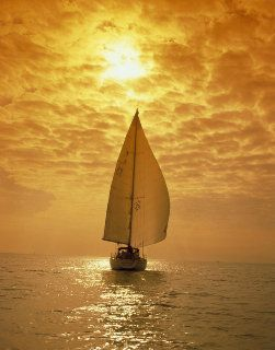 Sailing away with the breeze..