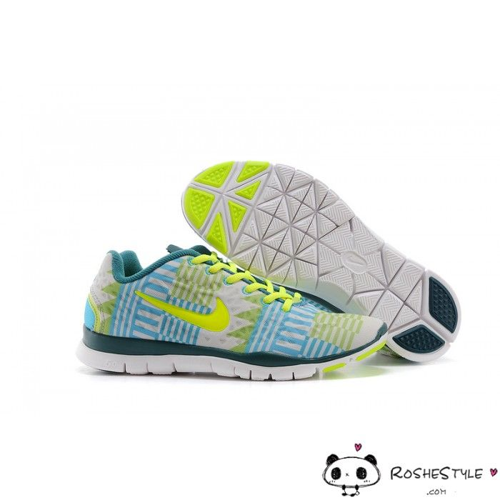 Nike Free Trainer 5.0 Women Fluorescent Green Yellow
