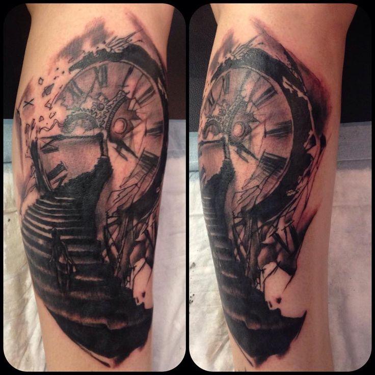 Tattoo done my Aidin Chimney - sadly original artist is unknown.