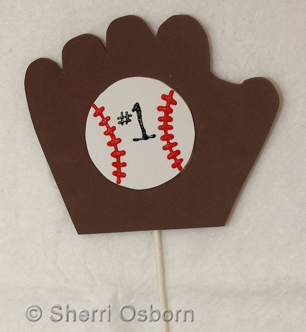 Number One Baseball Fan Craft