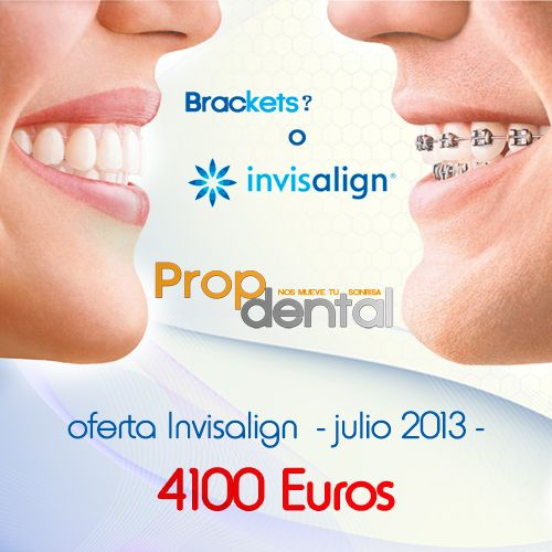 Precios de tratamientos dentales 2013 | Precios de dentista Promoción Invisalign  4.100 € / 5.416$