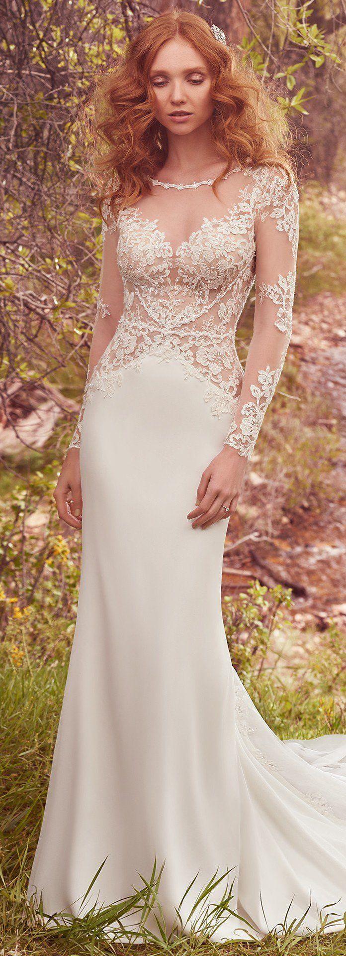 247 best maggie sottero images on pinterest short for Maggie sottero short wedding dress