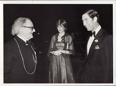 23 June 1981 at the Royal academy with a very sneaky looking Prince Charles