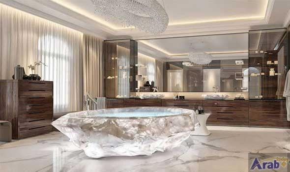 Bathtub in Dubai costs $ 1 million