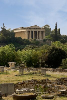 Athens, where Paul preached boldly to the Areopagus philosophers and men of higher learning.