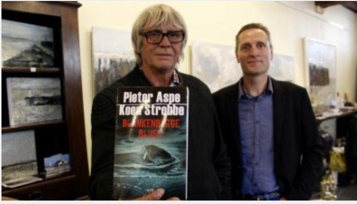 Na een lang rouwproces om zijn vrouw slaagt Aspe er toch in om een nieuw boek te schrijven. Hij schreef Blankenberge Blues in samenwerking met Koen Strobbe. Het boek gaat over een aangespoelde potvis, zijn ingewanden zouden duizenden euros kunnen waard zijn op de zwarte markt.