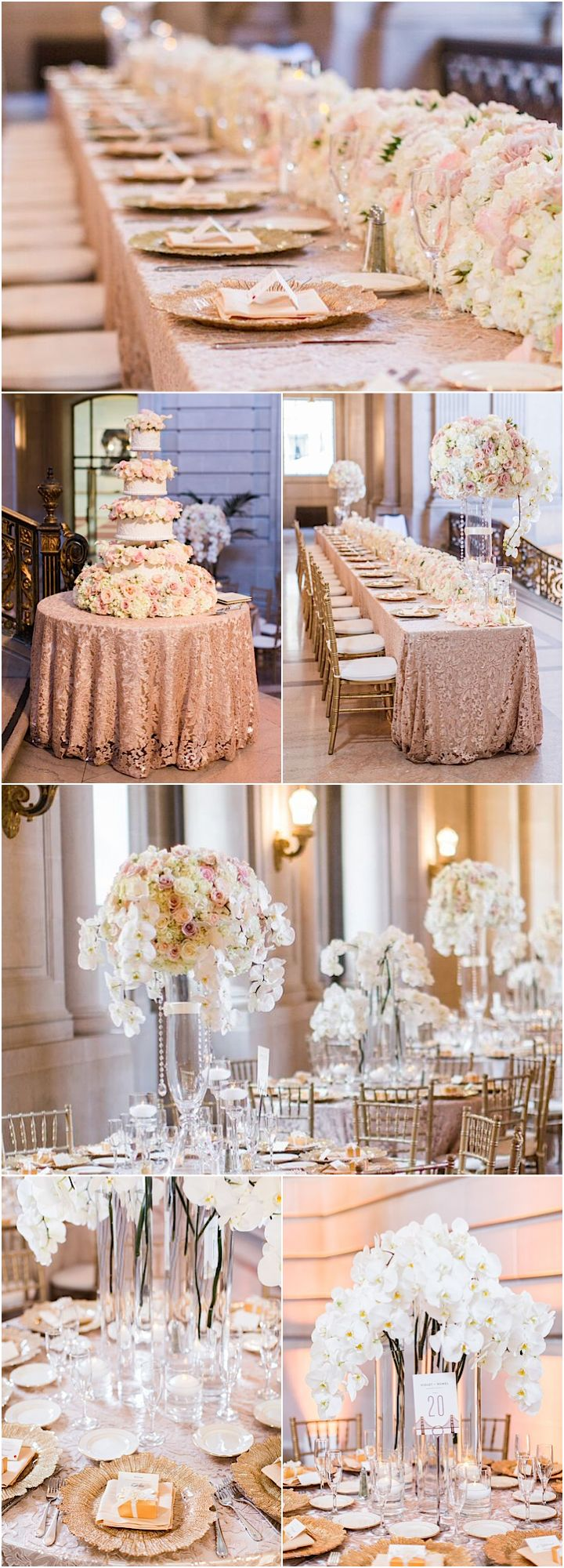 Photography: Blueberry Photography; glamorous wedding reception