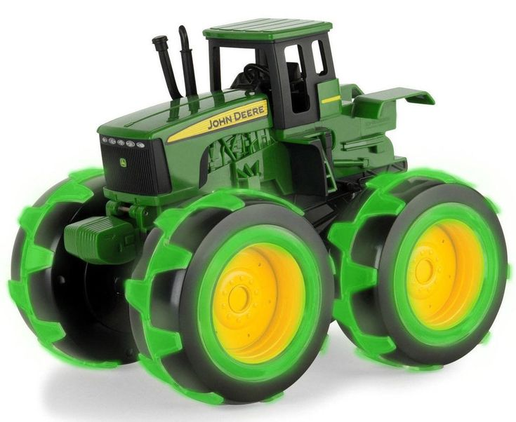 Lightning Wheels John Deere Monster Treads Tractor Deluxe Toy New Kids Best NEW