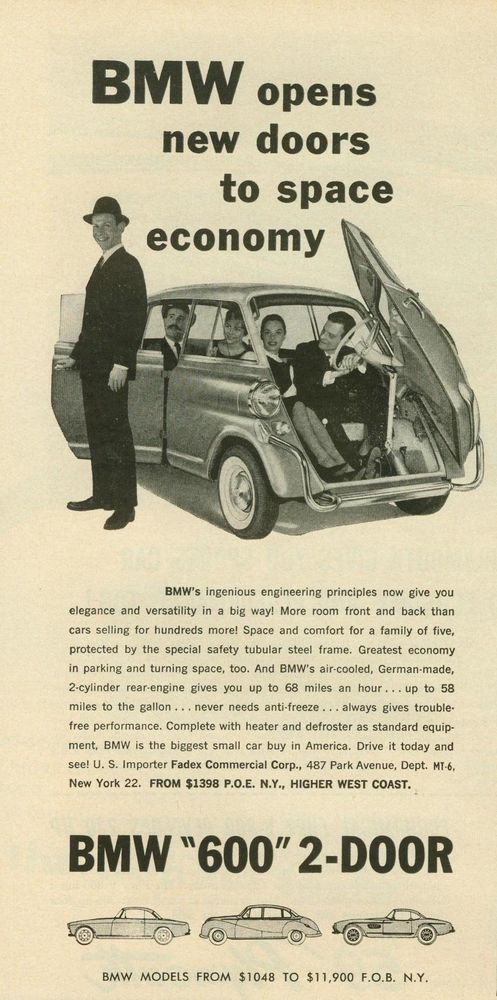 94 best BMW Car Ads images on Pinterest | Bmw cars, Antique cars ...