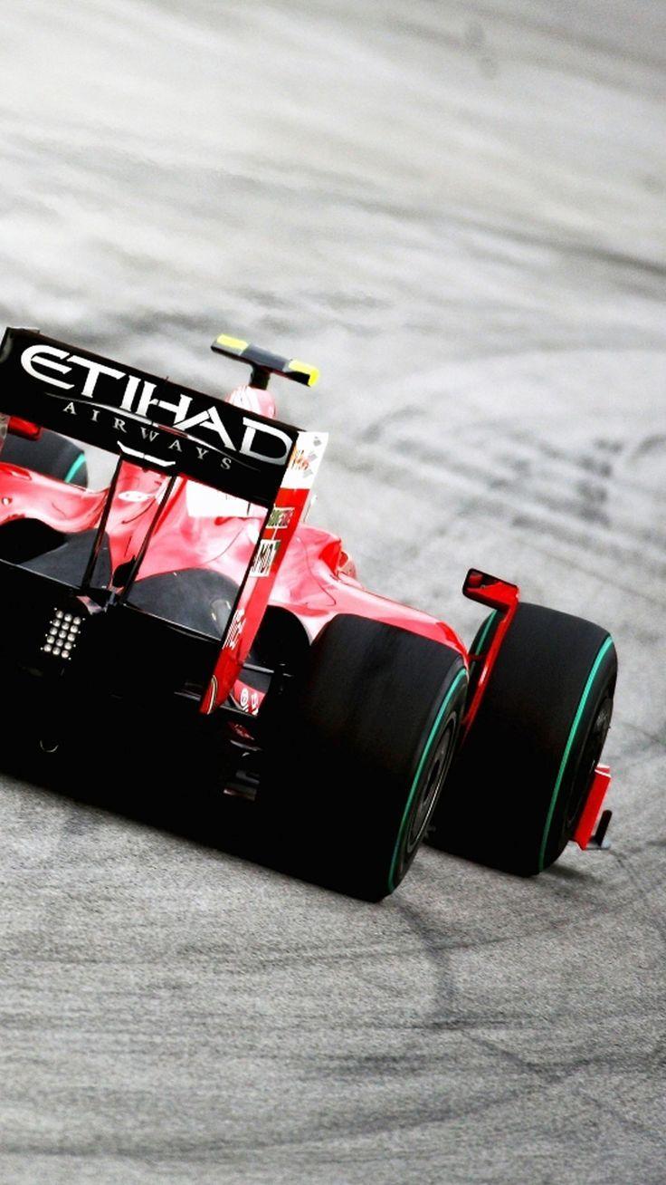 Formula 1 Red Car Automobilismo Carros Motorizada