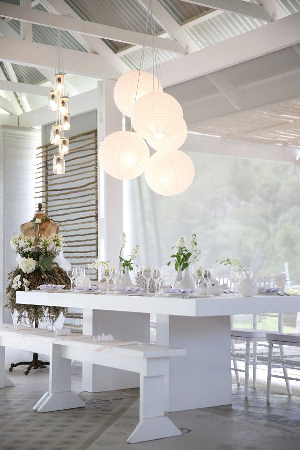 Whimsical White Wedding Style from the NEW Wedding Inspirations Magazine | SouthBound Bride  A photo shoot that CCPP was a part of recently!