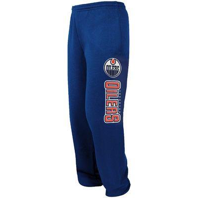 Edmonton Oilers Majestic Critical Victory VIII Fleece Pant - Royal