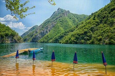 Lake Koman, northern Albania