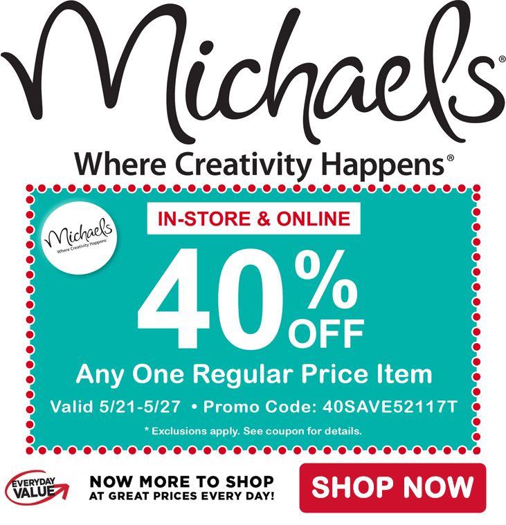 Mejores 97 imágenes de Michael\'s Craft Store Coupons / Discounts en ...