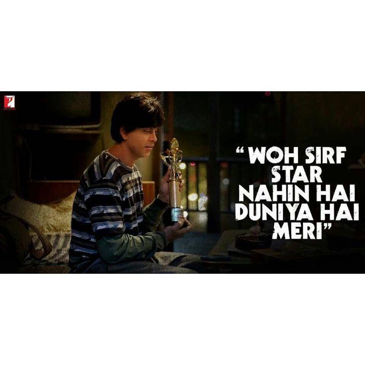 "2,139 Likes, 18 Comments - Yash Raj Films (@yrf) on Instagram: ""A connection beyond words. #HappyBirthdaySRK @iamsrk #fan #shahrukhkhan #srk #jabrasuperstar…"""
