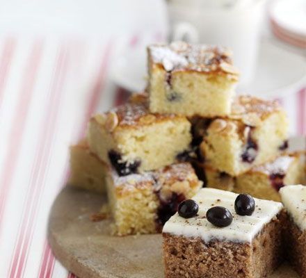 Baking doesn't have to be complicated - this simple fruity traybake is ready in 45 minutes
