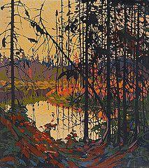 One of Tom Thomson's finest pieces!One of my personal favourites! Canadian Art