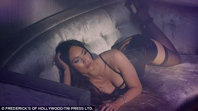 FOW 24 NEWS: Megan Fox Strips To Bra And Suspenders For Lingeri...