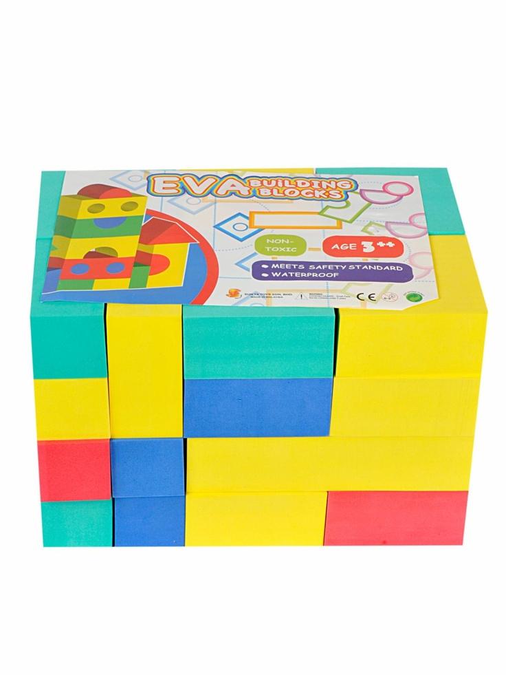 34 best foam blocks for kids images on pinterest for Foam block house construction