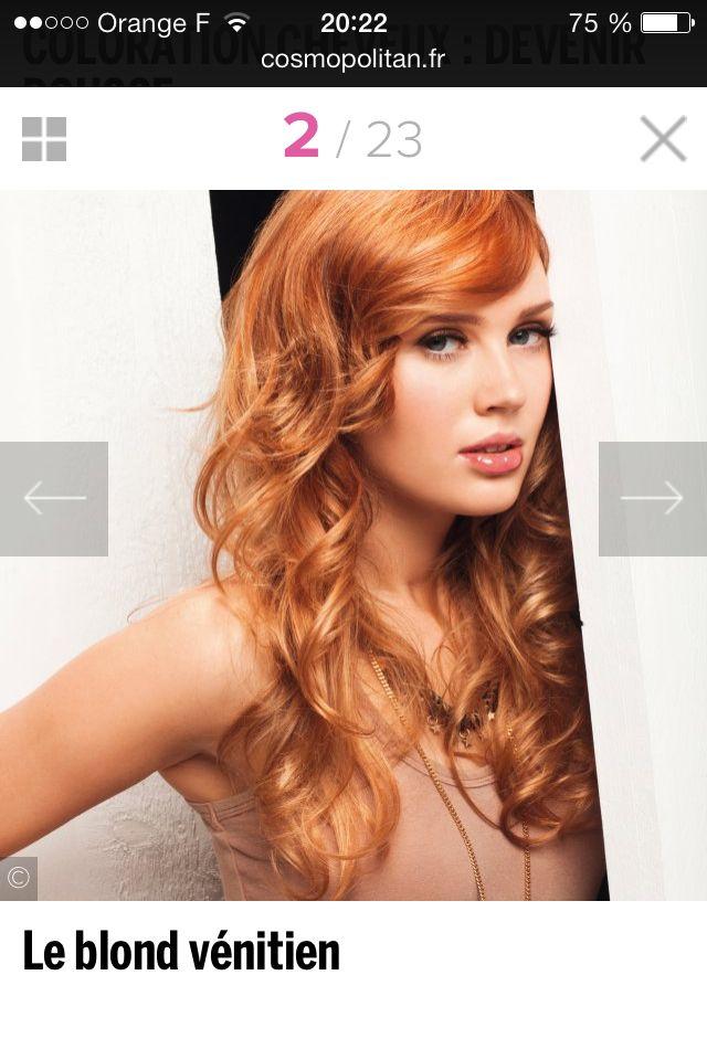blond vnitien - Coloration Blond Venitien