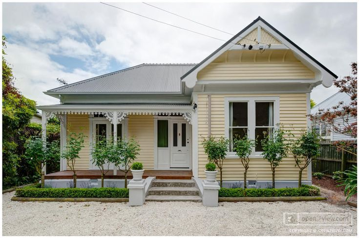 Exterior paint colours for new zealand villa google for Window designs nz