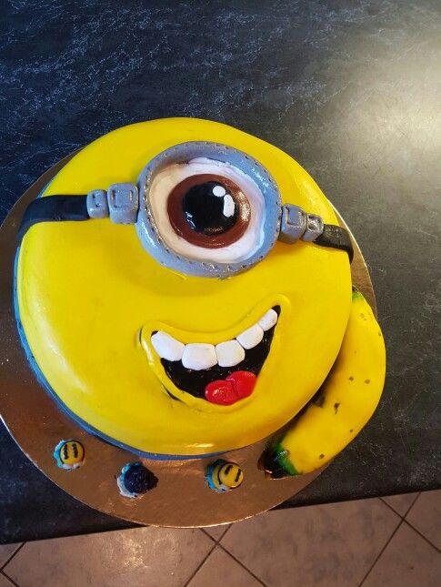 Minions cake, minyon torta