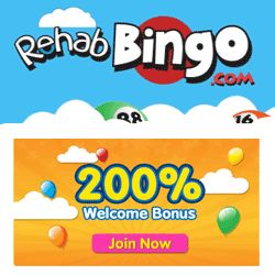 Rehab Bingo review | Claim up to £100 FREE