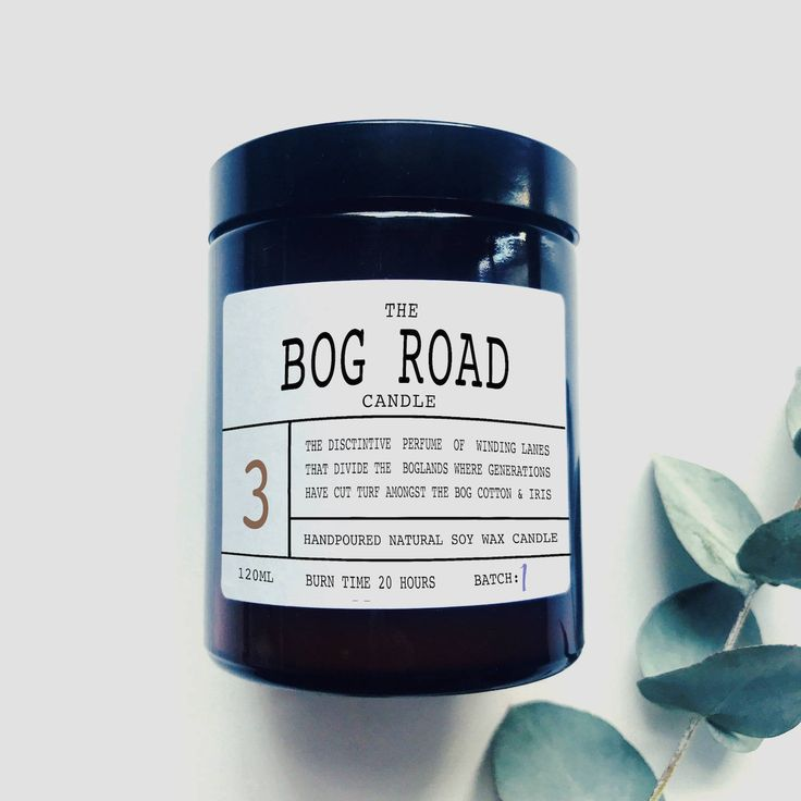 The Bog Road - Scented Soy Wax Candle - Made In Ireland by TheIrishChandler on Etsy