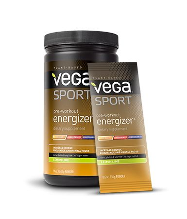 This gave me more energy than I've ever had! I bought two packets to try, and used one for a cross training workout and the other for my long run. I immediately went online and ordered a full container!  Vega Sport Product - Pre-workout Energizer http://myvega.com/sport/wp-content/uploads/sites/2/2013/02/ProductPage_PreWorkout_Family_LemonLime.png