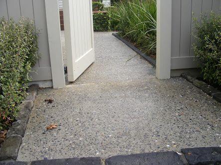 exposed aggregate concrete driveway - Google Search
