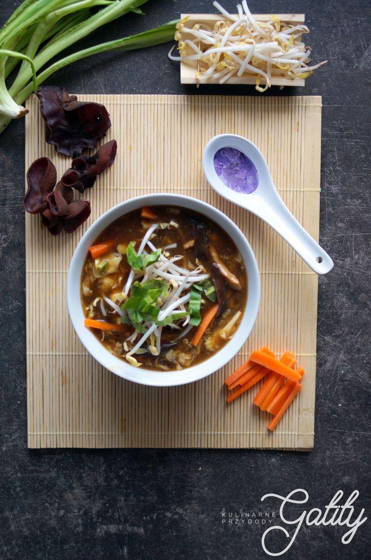 Kulinarne przygody Gatity - przepisy pełne smaku: Zupa ostro-kwaśna