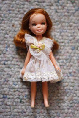 Uneeda Tiny Teen Doll HTF Red Head no bangs 1960s